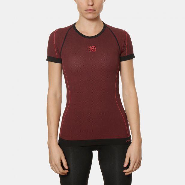 Camiseta Mujer M/C Microagujer