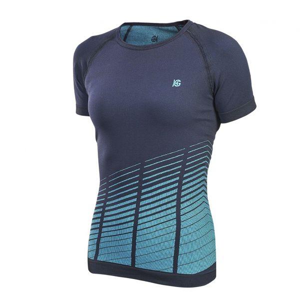 WAVE - T-shirt trail léger pour femme...